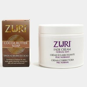 🆕 Zuri Lightening Cream + Cocoa Butter Bar Soap